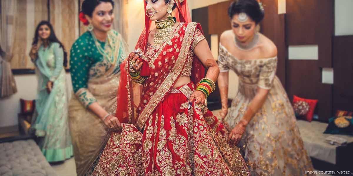 Utmost Bridal Attire For \'Roka\' Ceremony In Punjabi Weddings - Saral ...
