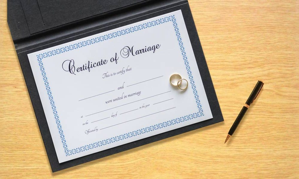 How To Get A Duplicate Marriage Certificate In India - Saral ...